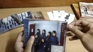 Unboxing Keyakizaka46 4th Single - Fukyouwaon [欅坂46 - 不協和音] Type C