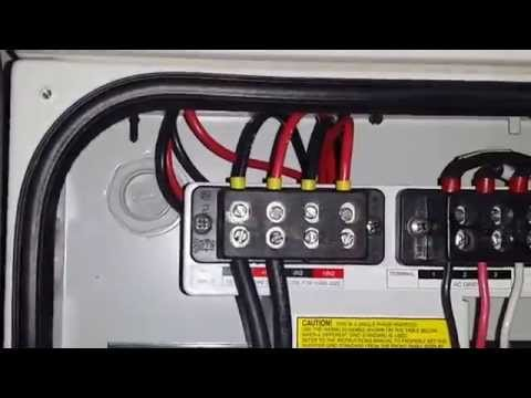 DIY Home Solar Installation – PART 5, INVERTER DC/AC WIRING,  Separate solar MPPT arrays