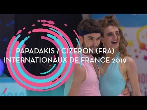 Papadakis / Cizeron (FRA) | Ice Dance Rhythm Dance | Internationaux De France 2019 | #GPFigure
