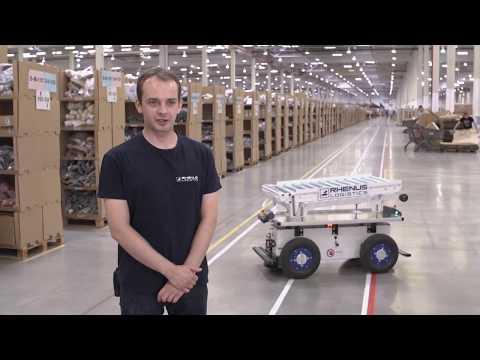 Jul, 2018: Rhenus Logistics Employs EffiBOT As Smart Flexible Conveying Solution