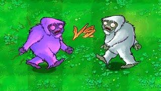 Plants vs Zombies Epic Hack 100% Yeti  vs Yeti Zombie