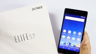 Gionee Elife S7 Slim 5.5 mm Smartphone Unboxing & Overview