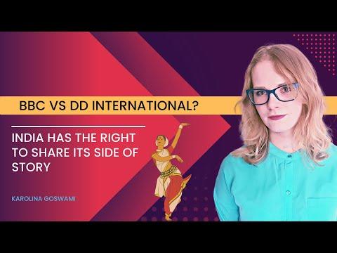 BBC World vs DD International? | Foreign Media on India | Reactions from Pakistan | Karolina Goswami