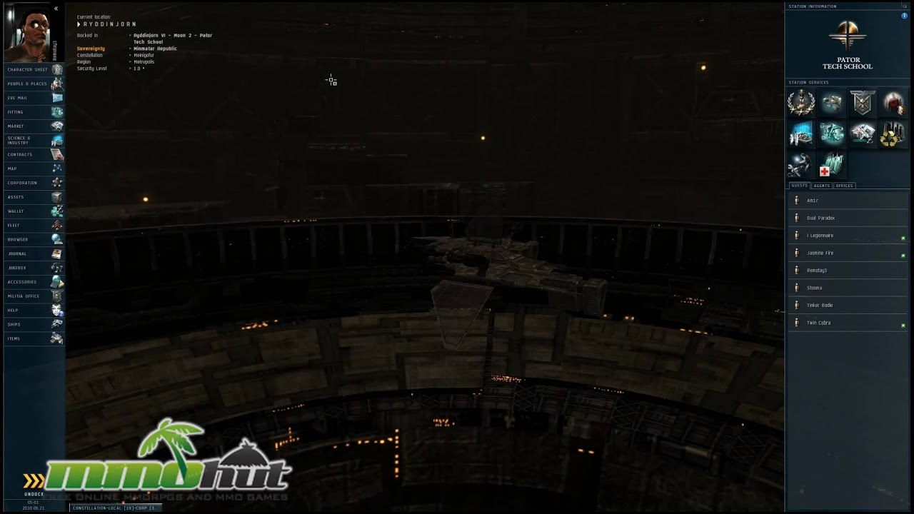 Eve Online Gameplay - First Look HD