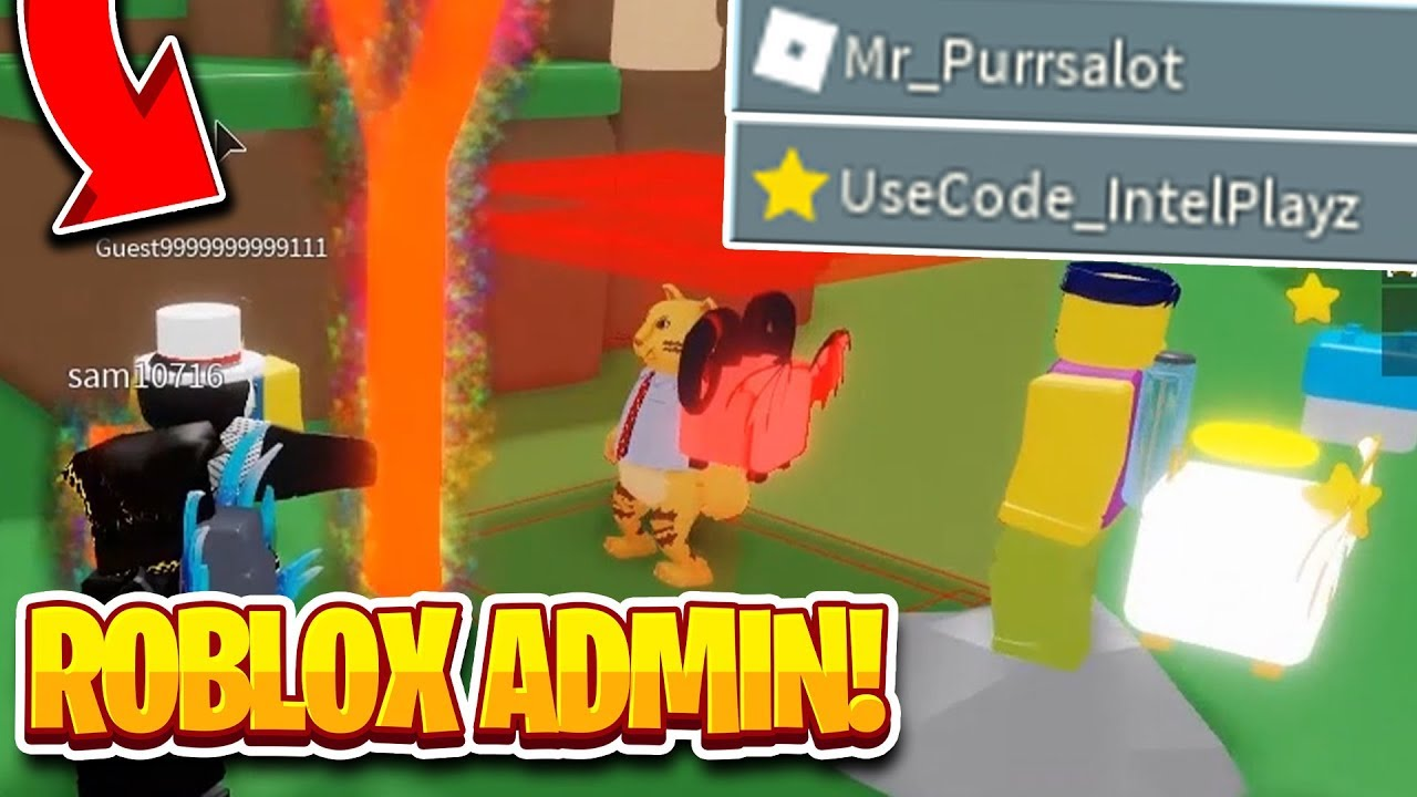 Admin For My Place Laser Tag Roblox A Roblox Admin Joined My Game So I Trolled Them Slingshot Simulator Youtube