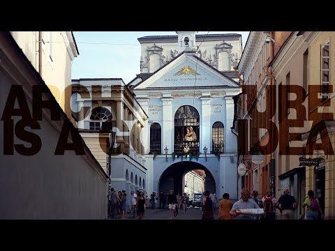 Wilno: co w Ostrej świeci Bramie?   Architecture is a good idea