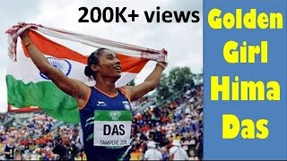 Golden Girl Hima Das amazing video