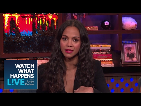 Zoe Saldana Spoils The 'Avatar' Sequel - WWHL