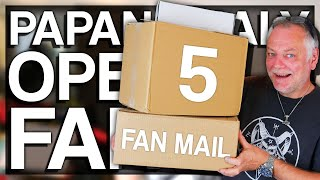 PAPANOMALY OPENING FAN MAIL 5