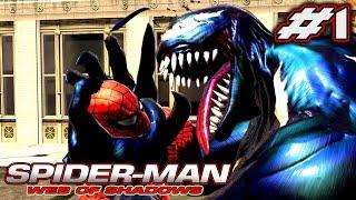 SPIDER - MAN WEB OF SHADOWS: Início - Muita ação e pancadaria [XBOX 360].