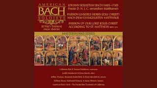 St Matthew Passion, BWV 244 14. Evangelista: Und da sie den Lobgesang gesprochen hatten