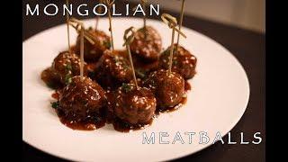 The Best Mongolian Meatballs