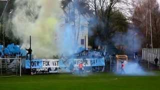 BSG Chemie Leipzig - Chemnitzer FC Sachsenpokal Pyroshow