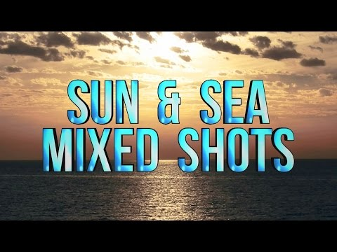 HD Background Sun & Sea Mixed Shots with Color Effects AA VFX