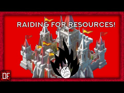 Lords Mobile: Raiding For Resources!