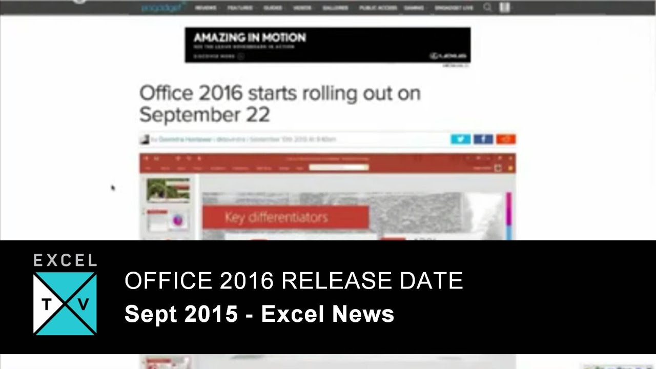 Microsoft Office 2016 Download and Official Release Date | Web Cool ...