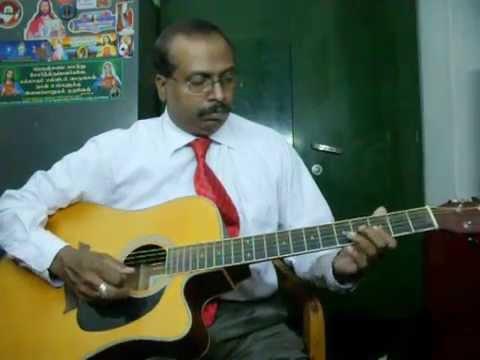 Shenbagame shenbagame guitar instrumental by Rajkumar Joseph.M