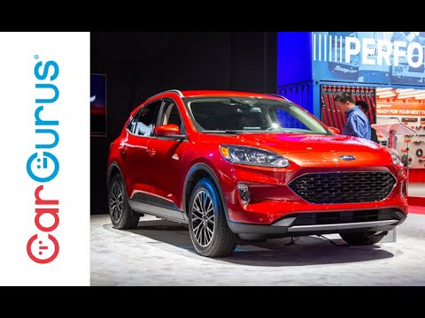 Nyc Auto Show 2020.2020 Ford Escape 2019 New York Auto Show
