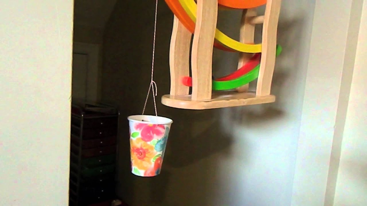 Easy rube goldberg machines youtube for Diy inventions household items