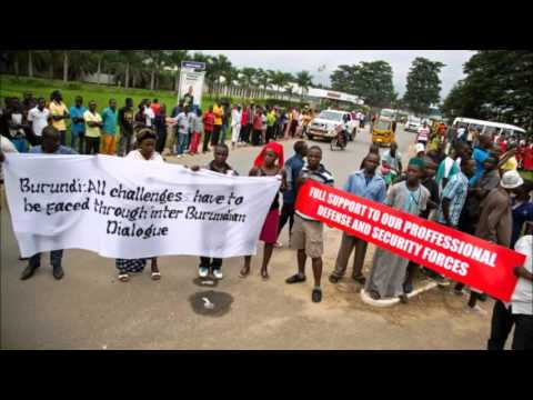 Analyse de Mr Tazira sur la visite de l'ONU au Burundi le 23 janv.16 - Radio CIBL Canada