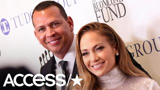 Jennifer Lopez & Alex Rodriguez Have The Look Of Love As They Step Out For A Benefit In NYC | Access