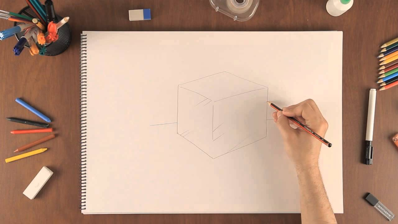 Cómo Dibujar Un Cubo De Hielo Aprende A Dibujar Como Un Profesional