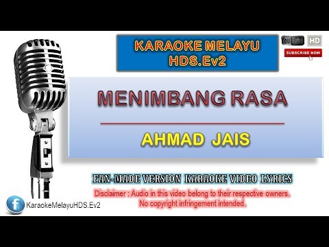 Download A. Ramlie - Menimbang Rasa | Karaoke Minus One | Lirik Video HD