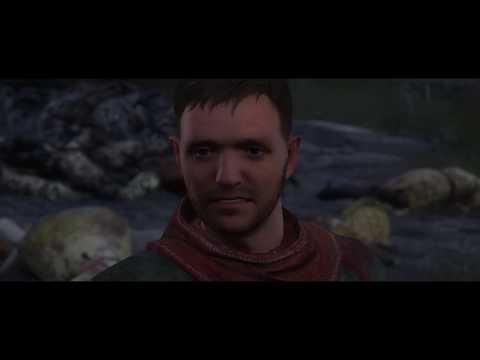 Kingdom Come: Deliverance - Run!: Guard Let's Henry Leave Talmer, Rovna Cemetary Cutscene (2018)