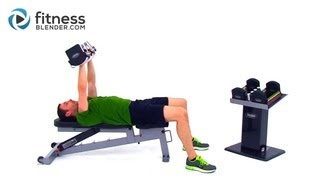 At Home Upper Body Workout - Comprehensive Superset Upper Body Workout
