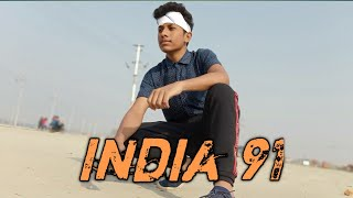 India 91 || MC Altaf || Dance Choreography || Hip Hop || Piyush Verma Choreography