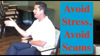 Lower Stress/ Avoid Scams. @Brookdale July '19. #crookedspineshow