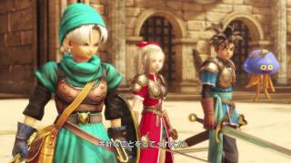 Dragon Quest Heroes Desert Final Stage Boss Fight VS. 3 Robosters