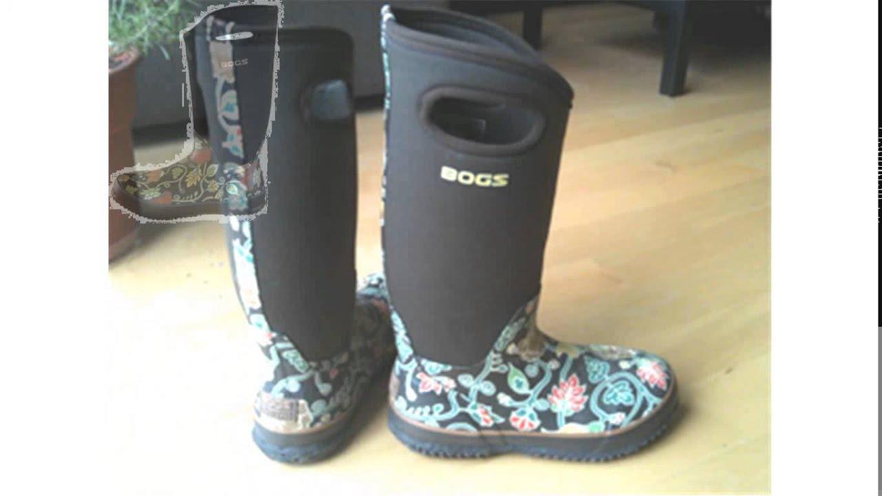 bog boots - YouTube