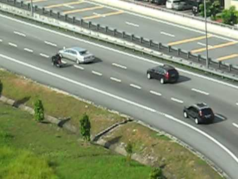 Unknown High Security Motorcade in Malaysia