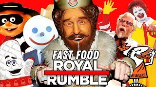 WHO WINS THE FAST FOOD ROYAL RUMBLE? (Going In Raw MAT CHAT Ep. 33)