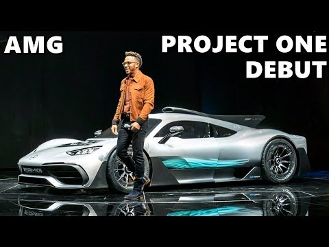 Mercedes Amg Project One Unveiling With Lewis Hamilton