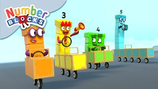 Numberblocks - Odds vs Evens | Learn to Count