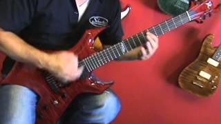 Beat Street Music BC Rich Custom Warlock Guitar Demo