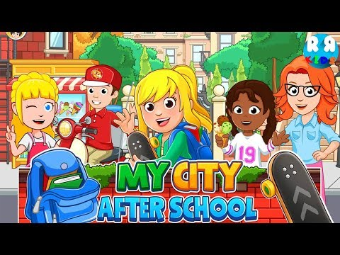 My City : After School  New Best App for Kids  My Town Games