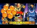 ALL CRACKED DRAGONBALLS ON GLOBAL!! | HOW TO SUMMON THE BLACK STAR DRAGON | DBZ DOKKAN BATTLE