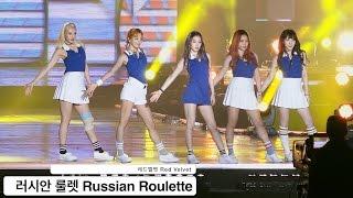 레드벨벳 Red Velvet [4K 직캠]러시안 룰렛 Russian Roulette@20160924 Rock Music