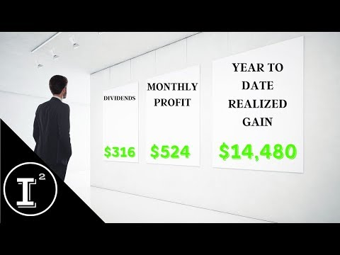 PORTFOLIO PERFORMANCE 2019   DIVIDEND INCOME 📈 STOCK PROFIT 💸 REALIZED GAIN   GET PAID EVERYDAY!