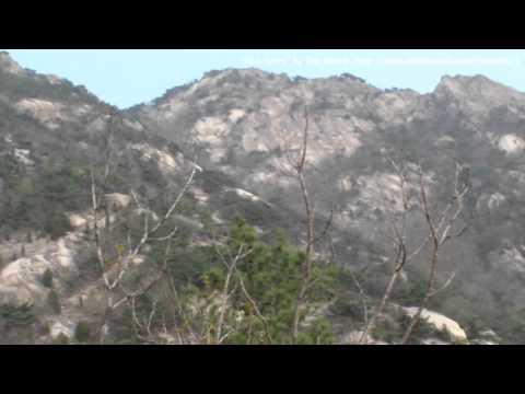 (die Republik Korea,Seoul)eine majestätische felsen Landschaft,der Berg Bukhan