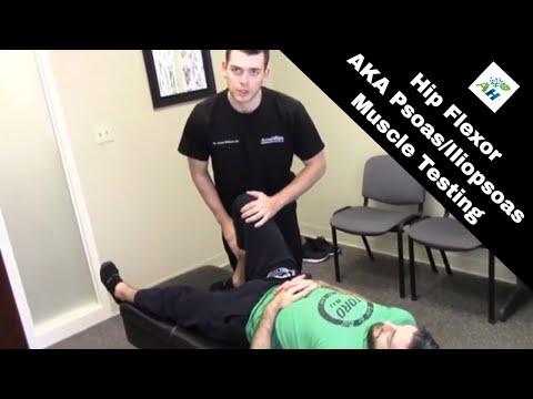 Hip Flexor Weakness Test