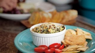 Quick Spinach & Artichoke Dip Recipe From Frigidaire And Elisha Joyce