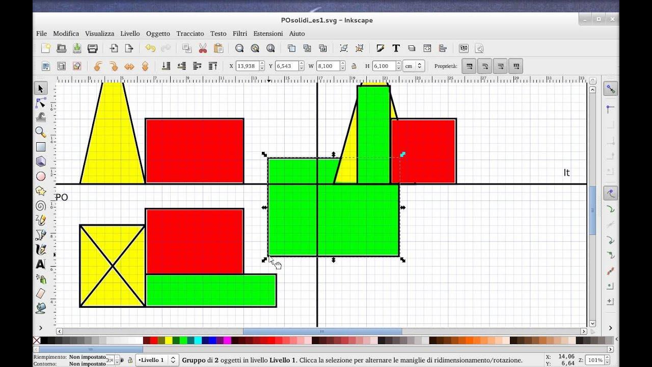 programma per proiezioni ortogonali