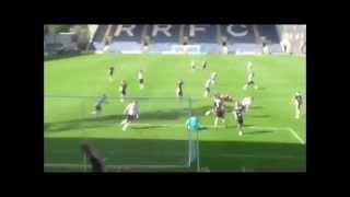 Paul Watson goal v Dumbarton 9/8/2014