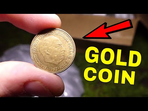 GOLD COIN!! Found Dumpster Diving Gamestop Night #477