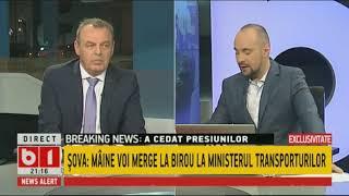 Șova: Spațiile comerciale au ajuns doar la cine a vrut Ion Rădoi, liderul sindicaliștilor Metrorex