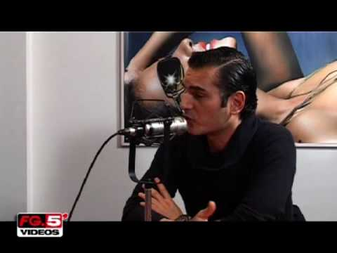 DAVID VENDETTA EN INTERVIEW CHEZ RADIO FG